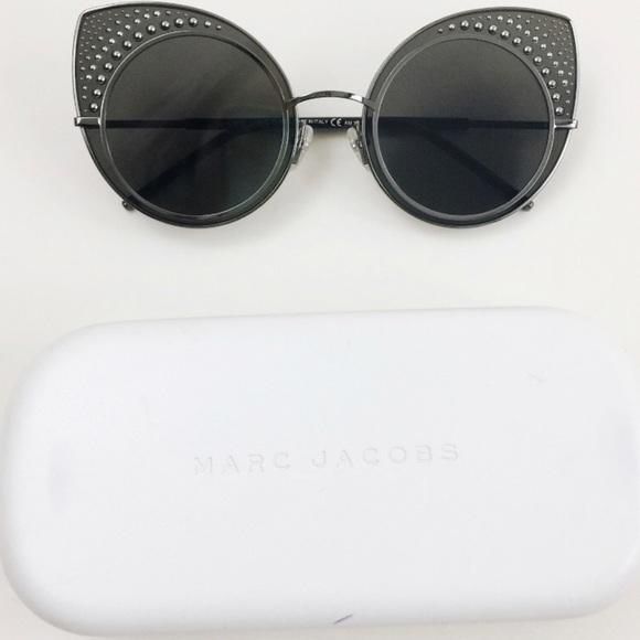 bbae3b1f83d NWT MARC JACOBS CAT EYES SUNGLASSES WITH CASE